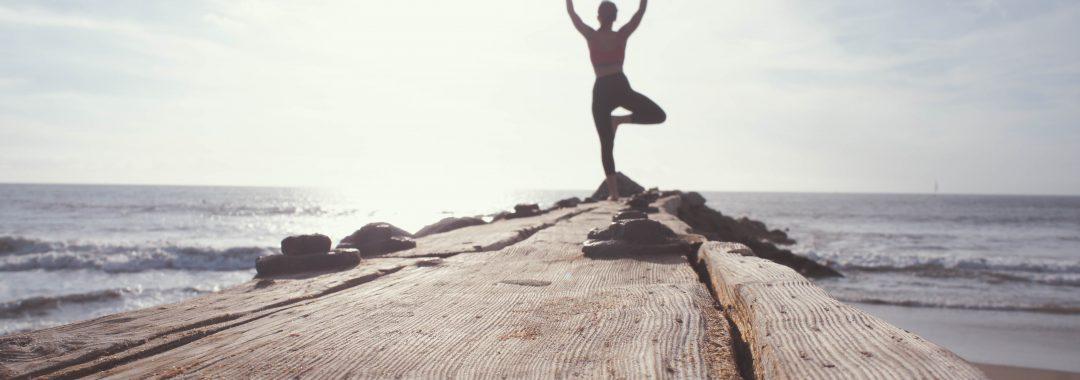 Aktive Yoga Pause im Büro