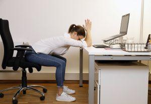 Lieblingsübung der Gesundheitsförderung in Hamburg gegen Rückenschmerzen